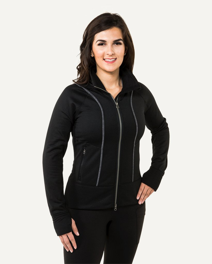 Black Fleece Jacket by Noble Outfitters