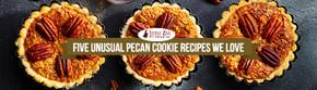 Five Unusual Pecan Cookie Recipes We Love
