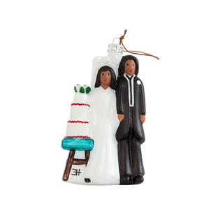 The Wedding Figurine Christmas Ornament