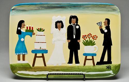 The Wedding Serving Piece.