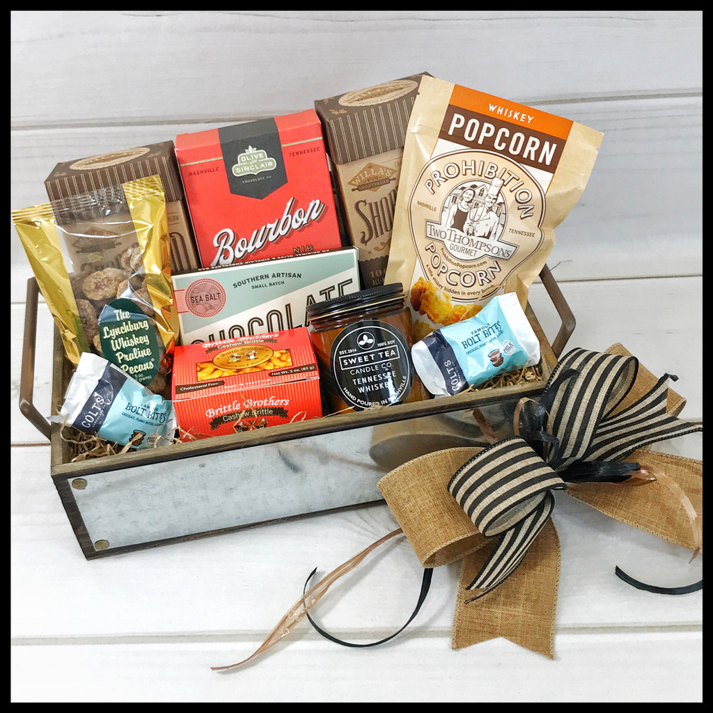 Tennessee Made Welcome Tray