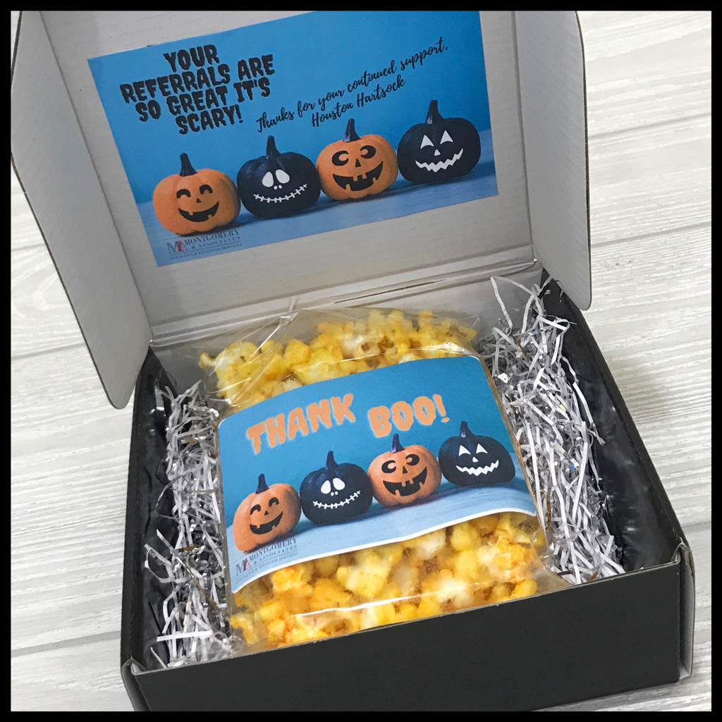 Halloween Boo Thank you