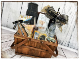 Date Night Picnic Gift Basket