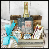 "Go Ahead and ""Wine"" Gift Tray"