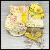 Quack Quack Baby Girl Gift Basket