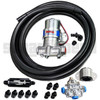 Scram Speed Carbureted Fuel System Kit #4, returnless, Holley Blue Pump