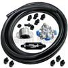 Scram Speed Carbureted Fuel System Kit #5, returnless, No pump