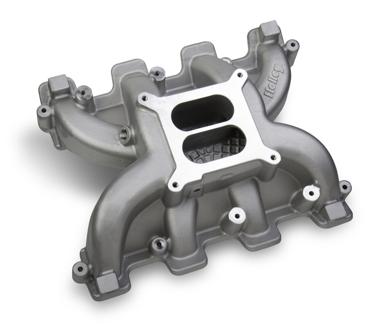 Holley 300-130 Dual Plane LS Carburetor intake - Cathedral Port LS1/2/6