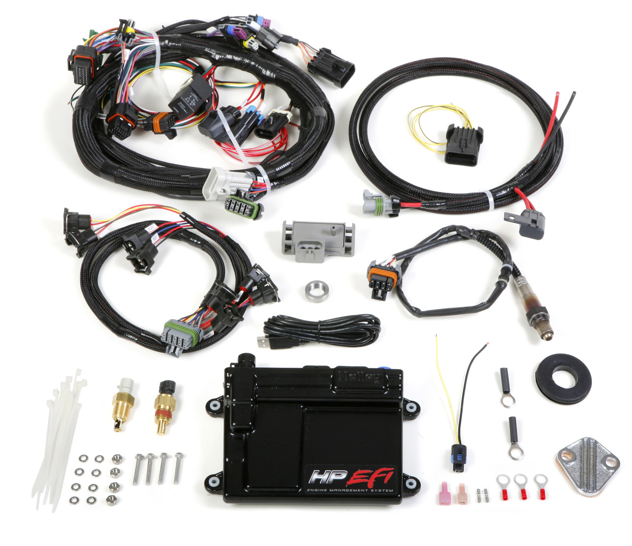 Holley EFI HP ECU AND HARNESS KIT - Universal Multi Point Fuel Injection