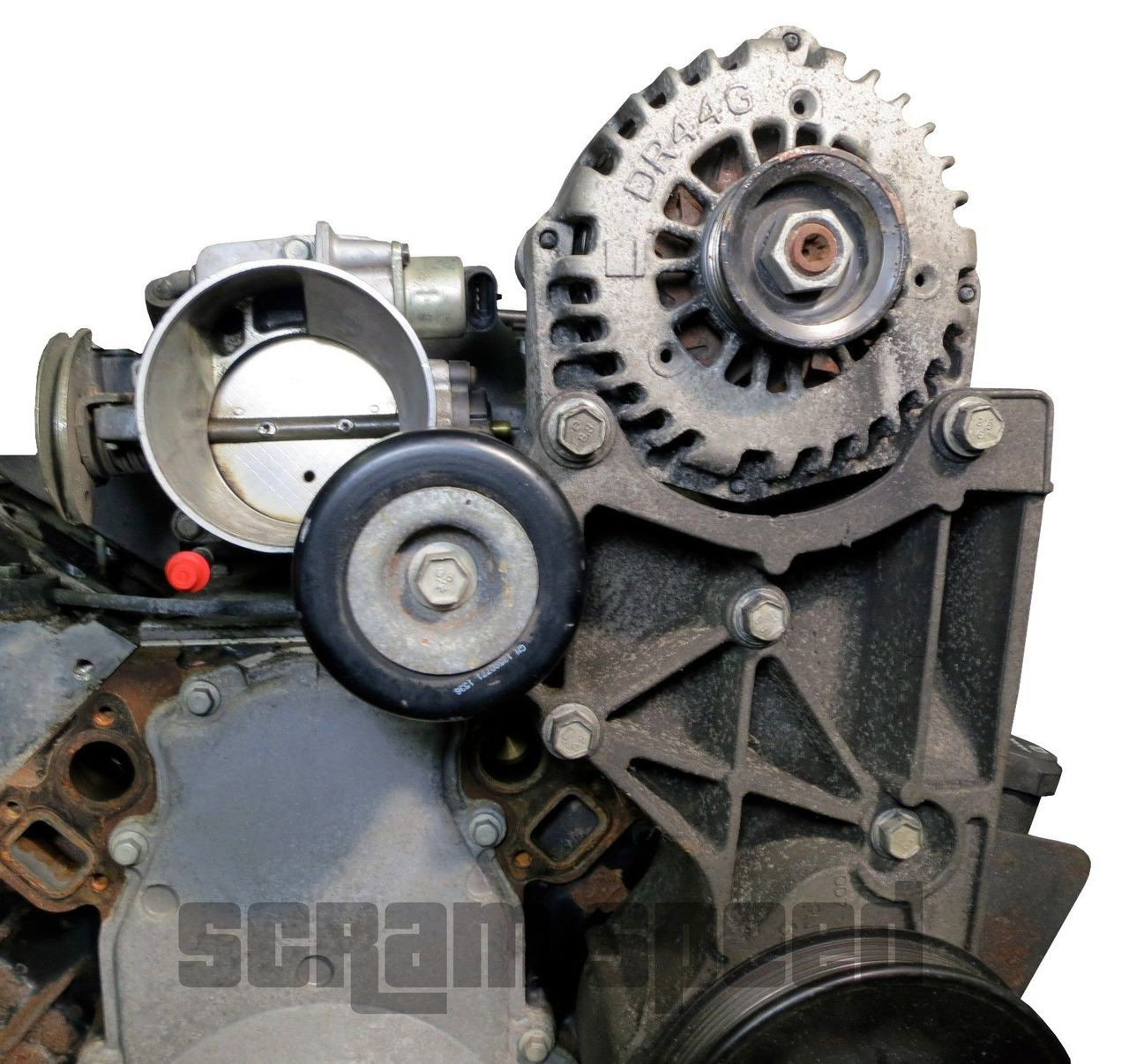 Idler Relocation -Truck Accessories with Car Intake
