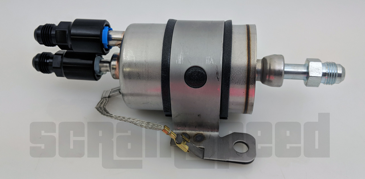 Our regulator kits only use Wix Filters and made in USA fittings.