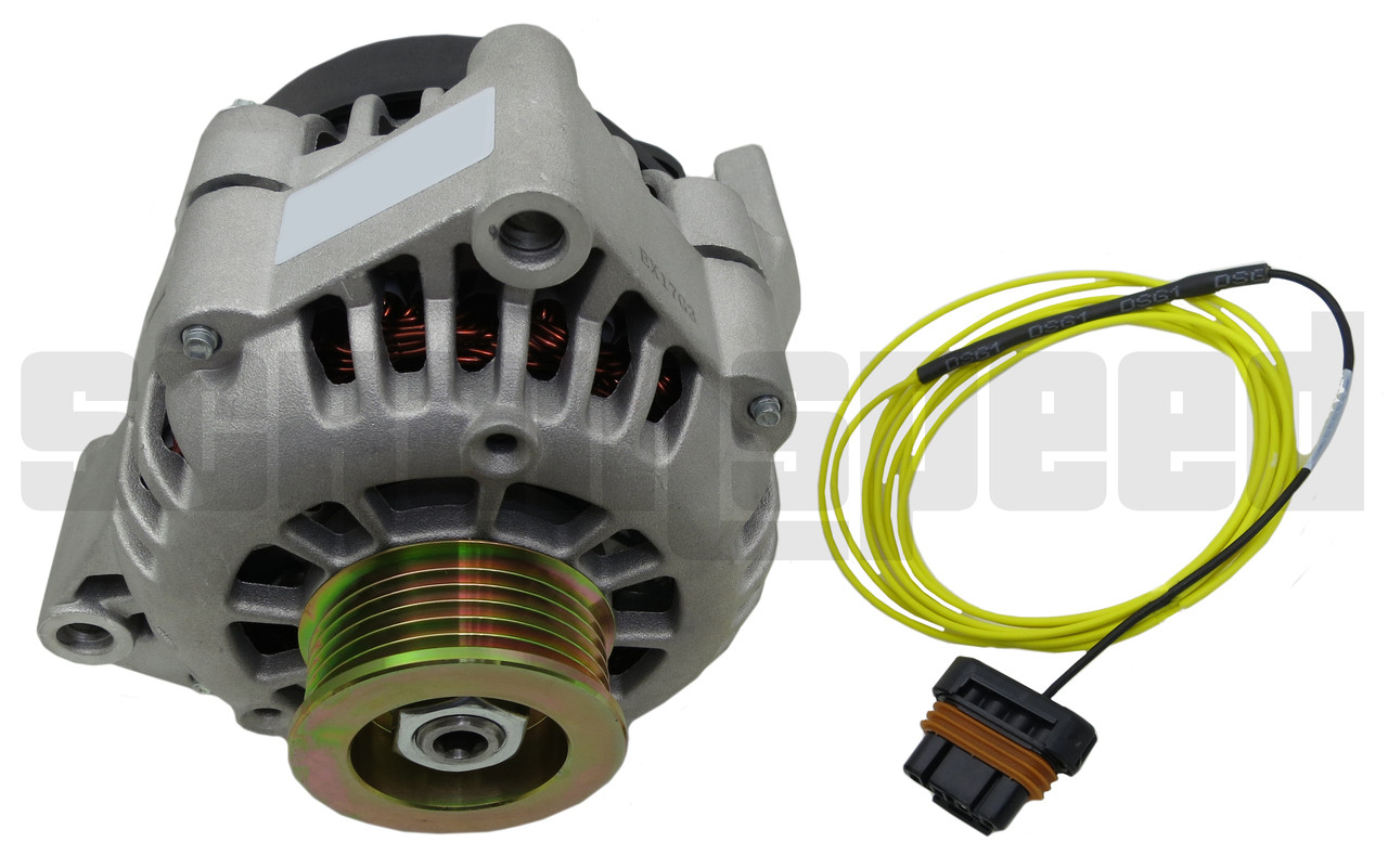 ls swap alternator kit with exciter wire