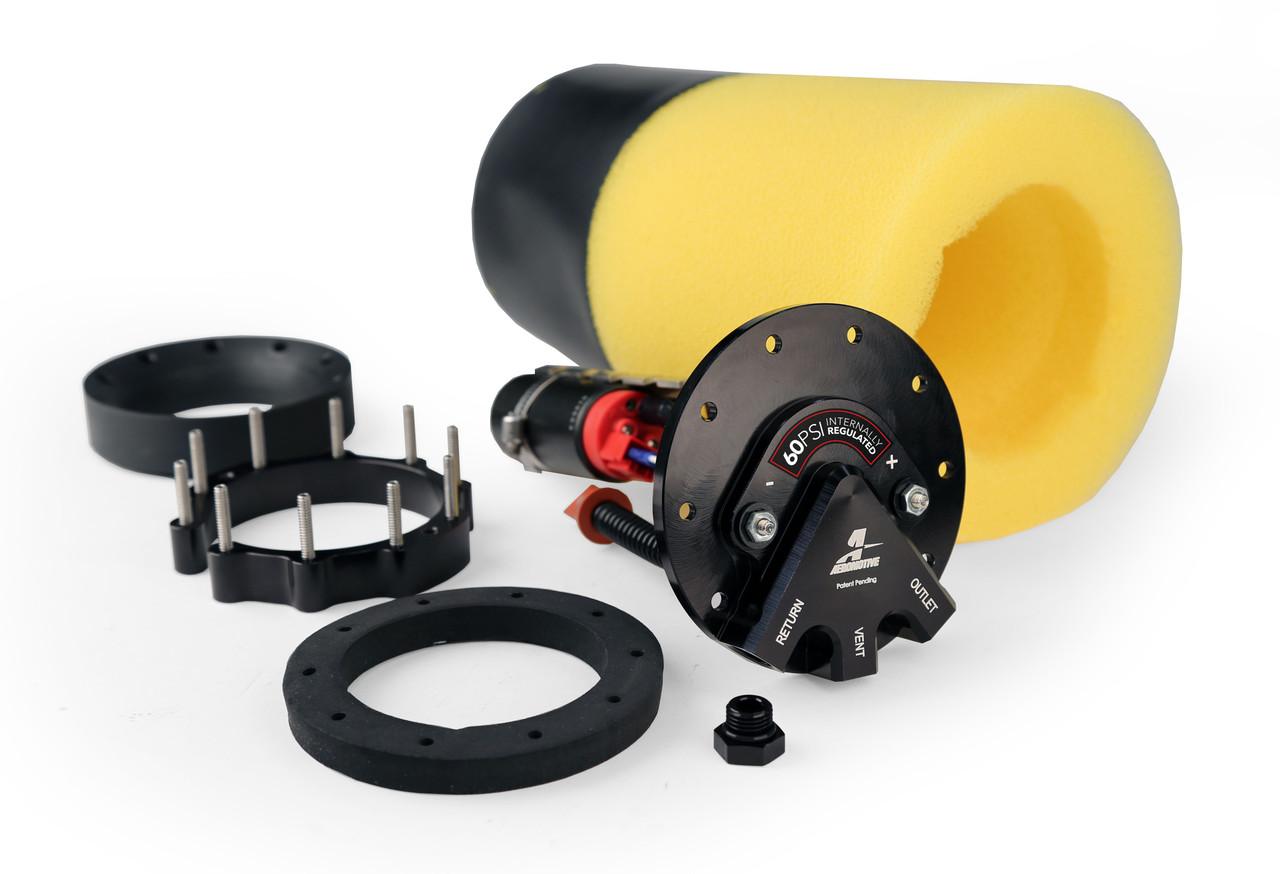 "Aeromotive 18329 Fuel Pump, Universal, Phantom, 60-psi, 6-10"" Depth"