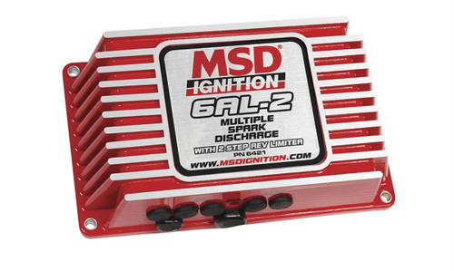 MSD 6AL-2 DIGITAL IGNITION BOX W/2-STEP REV CONTROL