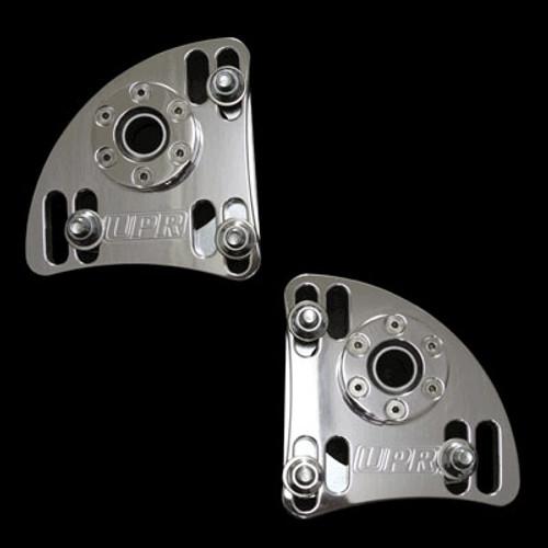 94-04 Caster Camber Plates-Billet Polished