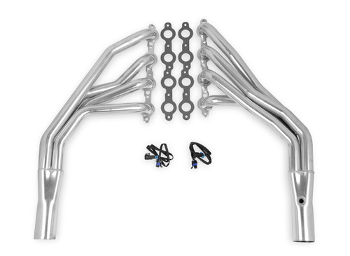 1955-57 Chevy LS Swap Header  (TITANIUM) Unisteer