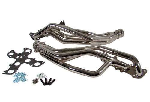 BBK 1634 Chrome Coyote 5.0 Swap Full Length Headers (79-04)