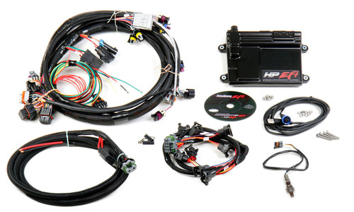 HP EFI Plug and Play ECU AND HARNESS, LS1/LS6, NTK 02 sensor