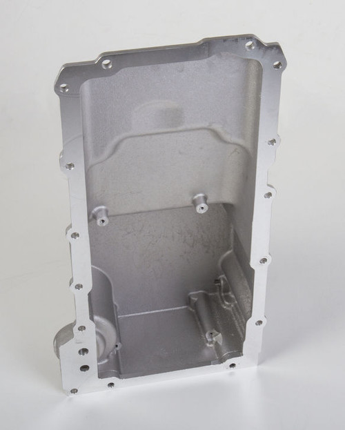 GM LS Retro-fit Oil Pan - Polished - additional front clearance