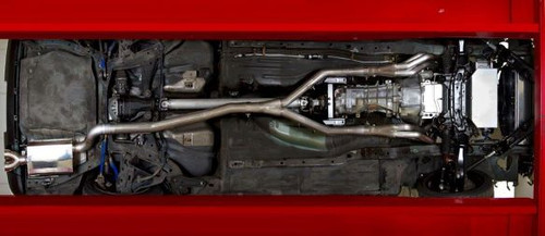 """Hooker Header Back Exhaust System, 2.5""""/3"""", Natural Finish Stainless Steel"""