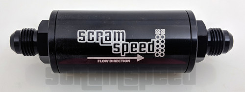 Scram Speed 6AN Fuel Filter - 74 Micron Screen