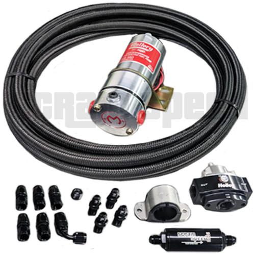 Scram Speed Carbureted Fuel System Kit #3, returnless