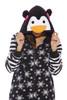 Snowflake Penguin Adult Onesie