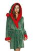 Reindeer Velour Robe