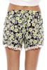 GS121099-1-L Just Love High Waisted Women Shorts - Summer Pom Pom Beach Shorts