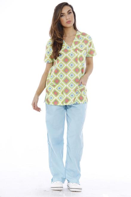 Just Love Nursing Scrubs Set for Women / Print Scrubs (V-Neck)