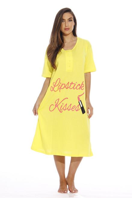 4361G-1 Dreamcrest Short Sleeve Nightgown / Sleep Dress for Women / Sleepwear
