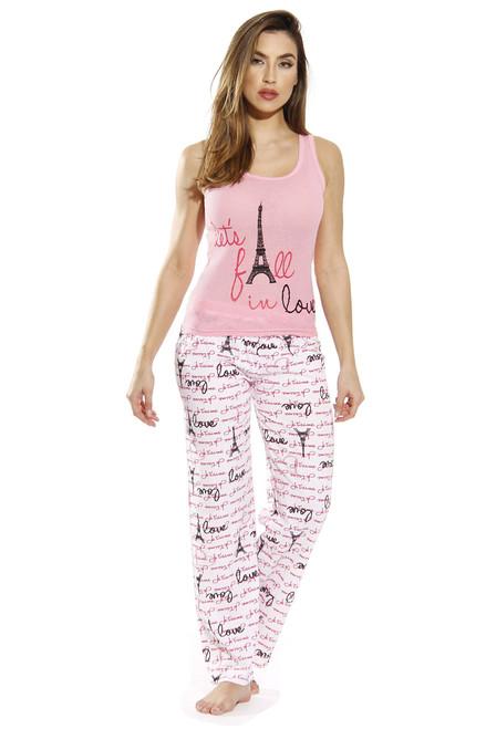 Cotton Tank & Pant Pajama Set
