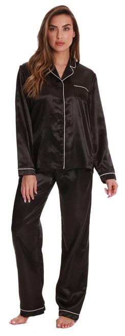 Satin Pajama Pants Set