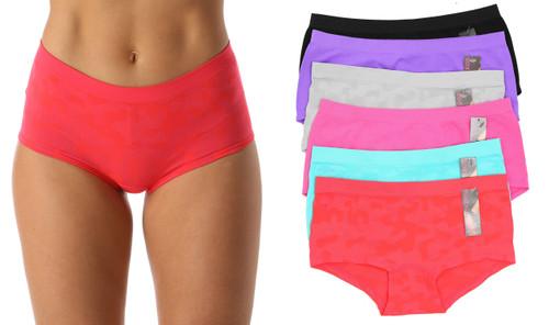 Seamless Boyleg Panties (6 Pack)