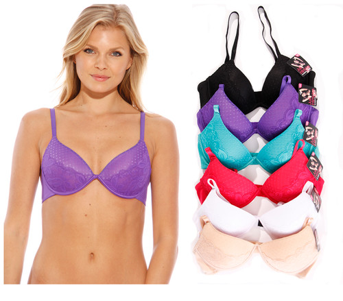Just Intimates Bras for Women - Petite to Plus Size/ Full Figure (Pack of 6)