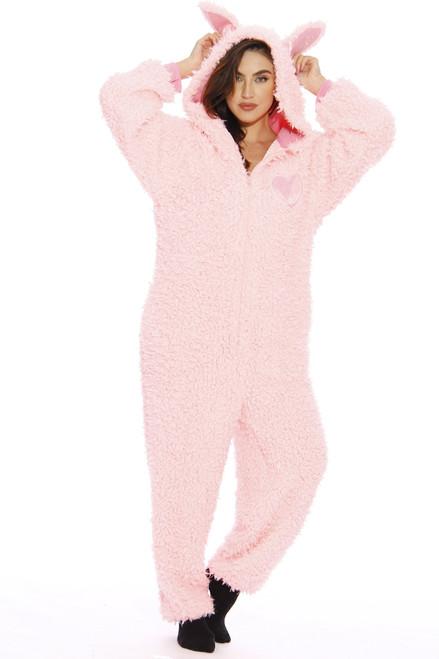 Just Love Shaggy Teddy Bear Adult Onesie / Pajamas