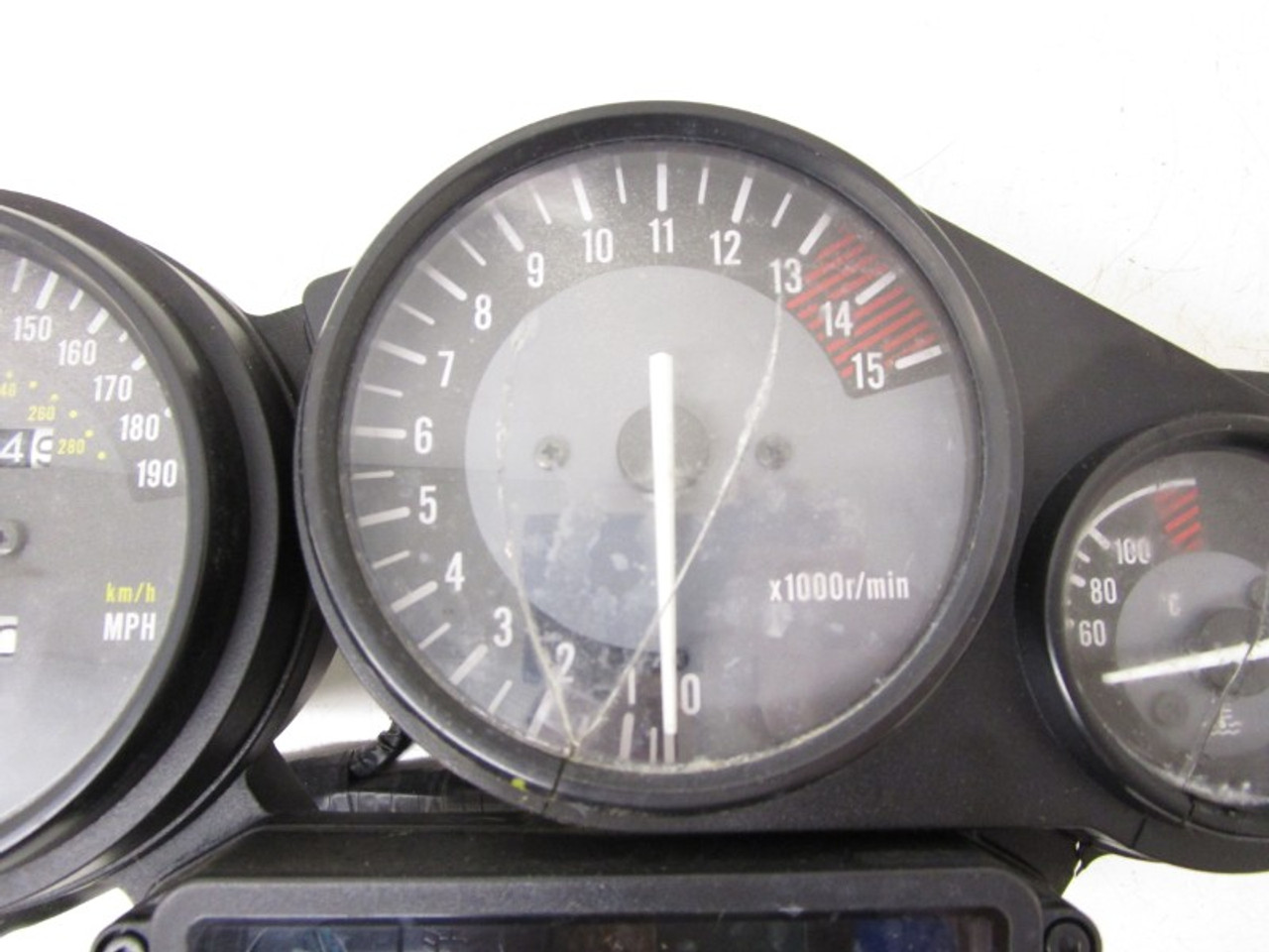 190 MPH SPEEDO SPEEDOMETER CLOCK SET DASH ASSY THUNDERCAT YAMAHA FZR1000