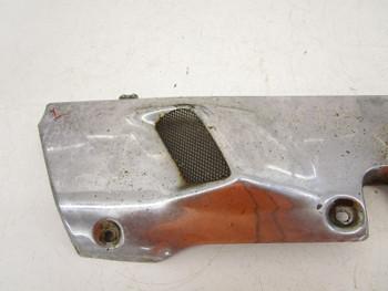 90 Honda GL 1500 Goldwing used Left Lower Heat Shield