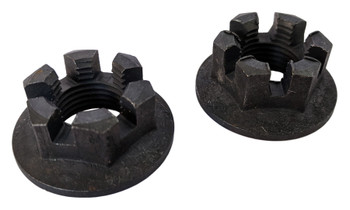 2 Front orRear Axle Hub Castle Crown Nut 16mmX1.50 for Yamaha 04-06 Bruin YFM350