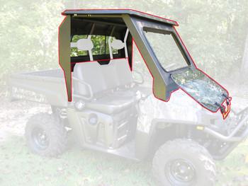 All Steel Complete Cab Enclosure No Doors fits Polaris 2011-14 Ranger 900 Diesel