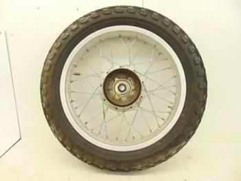 91 Yamaha TW 200 used Front Wheel Hub Rim 2.5x18 Rare Tire 962JX-25111-00-00