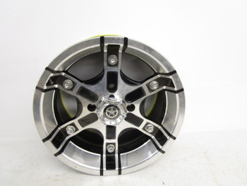 MSA Motosport Alloy 4x110 14x7 4-3 Offset Wheel Rim #3
