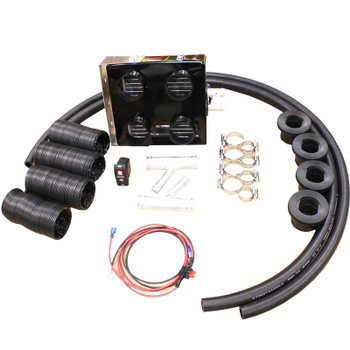 For Polaris 15-20 Ranger Crew 570 Cab Enclosure Heater & Defrost DefrosterSystem