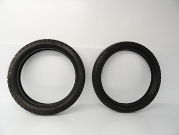 69 70 Honda SL 350 K0 used Set Bridgestone Front Rear Tire Tires 3.00x19 3.50x18