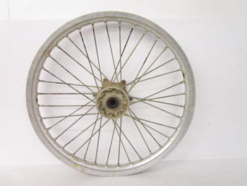 99 Yamaha YZ 125 Front Wheel Rim Hub Spokes *Cracked* 21x1.60 4SS-25111-01-00