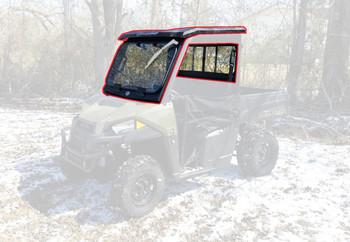 All Steel Complete Cab Enclosure NODoor for Polaris 15-20 Ranger 500 570 Midsize