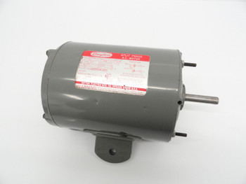 "Dayton Split Phase AC Electric Motor 6K807B 1/3HP 1725 RPM 0.5"" Output Shaft"