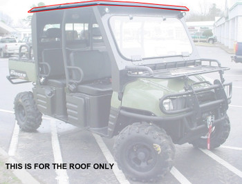 10-14 for Polaris Ranger 400 500 550 570 800 EV Mid Size Crew Steel Roof TopOnly