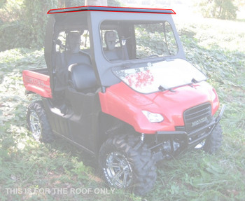 2009 10 11 12 2013 fits Honda Big Red All Steel Roof Top Only