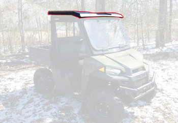 15-20 for Polaris Ranger 500 570 ETX EV Mid Size Std Roof Top Only Cab Enclosure